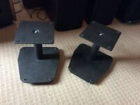 3 sets speaker stands . No offers . Ring only