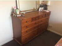 Double drawers, £80