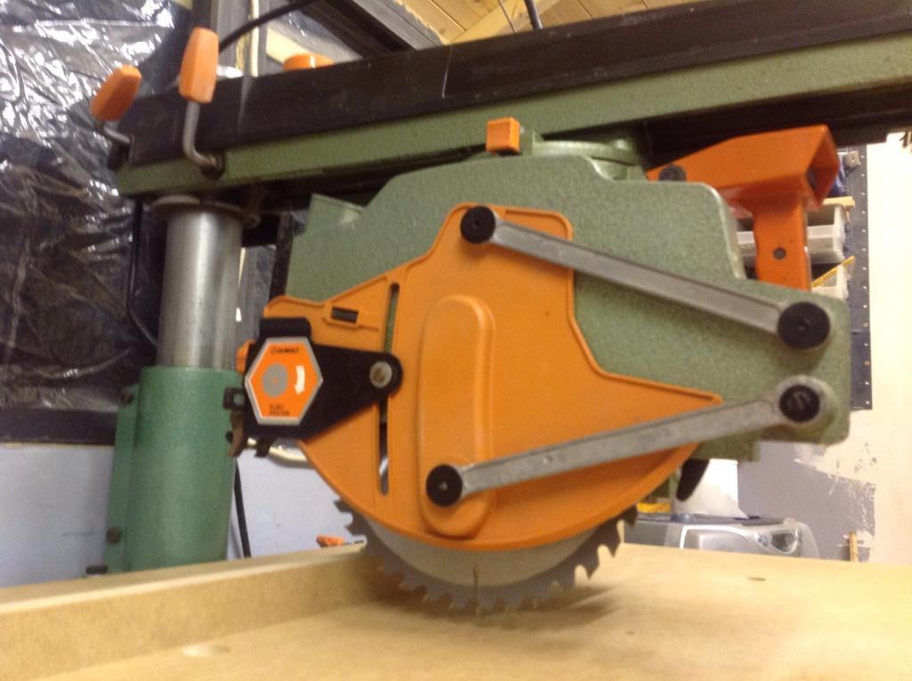 Dewalt Dw125 Radial Arm Saw In Maidenhead Berkshire