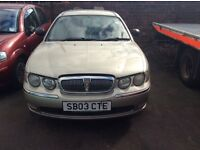 ROVER 75 2L DIESEL 2003 FOR SPARES AND REPAIRS