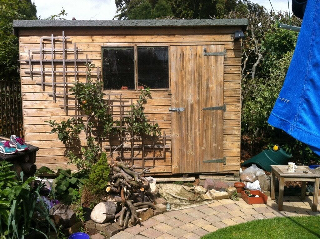 timber garden shed for sale