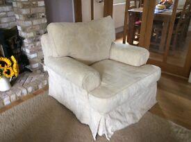 Armchair, John Lewis cream