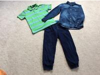 Boys aged 7-8 H&M and Lee Cooper bundle