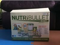 Nutribullet baby blender