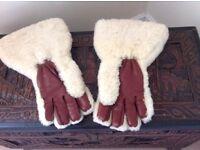 Vintage Sheepskin Gloves