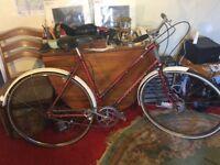Ladies medium sized classic town bike Raleigh 20 inch (51cm)