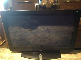 """Technika 40"""" HD Ready Colour TV. Very good picture comes with remote control."""