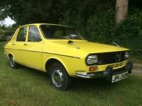 Renault 12 TR. Auto Low Miles £5975