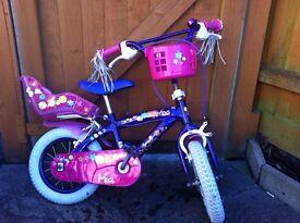 12'' Mia Power girls bike with purple frame,bike,kids bike