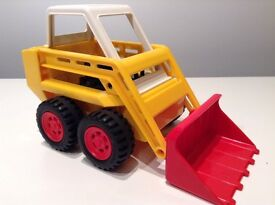 Playmobil vintage truck. good condition. clean and works. from 1980