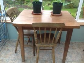 Rustic Pine Table for collection