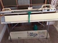 BROTHER 836 KNITTING MACHINE & 850 RIBBER WITH ALL ACCESSORIES