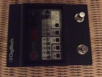 DigiTech Element Guitar Multi Effects Pedal