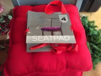 New Luxury Red Chair Seat Cushions