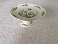 Cake stand, Aynsley cottage garden, no chips or cracks. Never used.