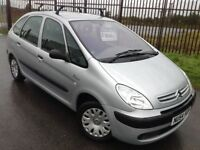 2004 54 CITROEN PICASSO 1.6 SX - 12 MONTHS MOT, TOWBAR, ROOFRAILS, DRIVES VERY WELL, PRICED TO SELL!