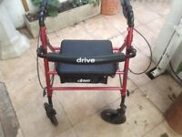 Drive Walker and Home Helpr Trolley