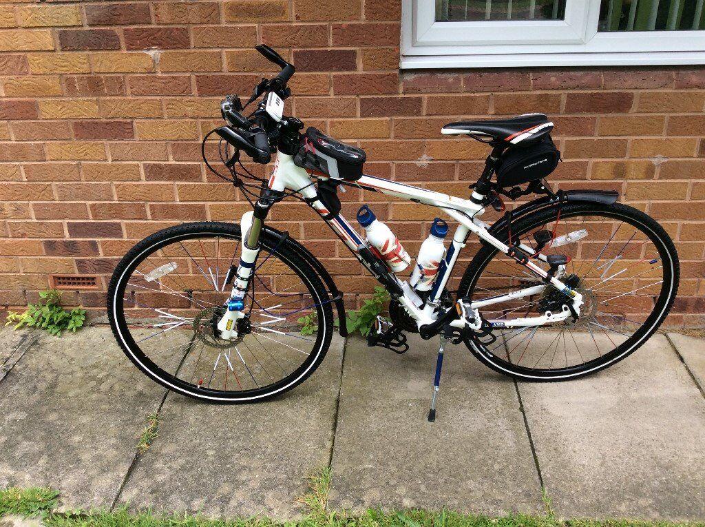 gt transeo 1 hybrid mountain bike an pc tower an £200 for small convertible car