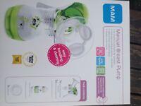 Mam manual breast pump-brand new