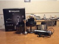 hotpoint 5 in 1 hand blender, used only once