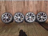 AUDI a4 / a5 alloys new Dunlop tyres