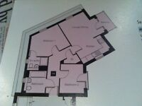 2 Bed Top Floor Flat for Rent CM1