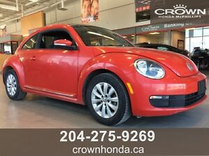 2014 VOLKSWAGEN BEETLE COUPE - ONE OWNER, LOCAL! - JUST IN TIME