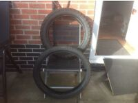Metzeler Sahara Enduro Tyres 140/80/18 & 90/90/21
