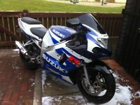 Gsxr 600 k1 open to offers
