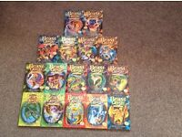 16 Children's Beast Quest books