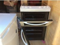 Cooker and fridge