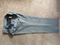 Men's Grey trousers from Marks and Spencers
