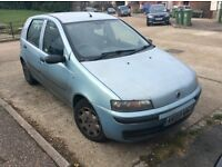 2003 Fiat Punto Active 1248cc needs repair