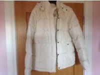 Ralph Lauren cream padded jacket