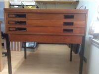 3 drawer plan chest