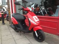 PIAGGIO ZIP 50cc DE RESTRICTED RECENT SERVICE 1 OWNER FROM NEW NICE NIPPY LITTLE SCOOTER