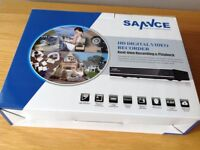 CCTV dvr with motion detection and remote veiwing one ter. bit..hb