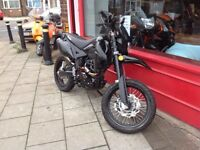 Lexmoto Adrenaline 125cc EFI E4 Stealth model! finance and delivery available