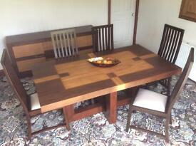 Francisco Table & 6 Chair Set