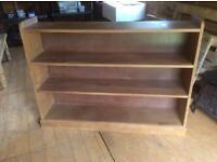 Antique solid oak bookcase