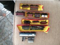 Hornby train princess Elizabeth 46201 and carriages