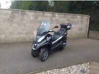 2016 Piaggio MP3 500 Business LT ABS/ASR, Black, 2230kms.