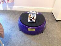 Like new Vibra Disc exercise machine
