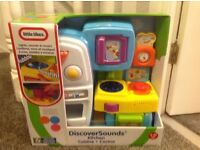 Little Tikes Discover Sounds Kitchen still in box unused.