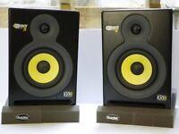 KRK Rokit 5 RP5 Powered Studio Monitors Speakers Black