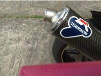 Wanted exhaust system Honda 750 CB F2S