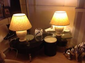 Marks & Spencer's Table Lamp's x 3