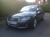 AUDI A3 2.0 TDI SPORT 140 BHP 2010 60 PLATE 1 OWNER CAR GREAT BARGAIN HPI CLEAR FULL HISTORY 2xKEYS