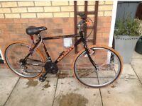 Men's Black 24inch wheel Bike