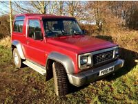 Daihatsu Fourtrak Trustworthy truck. Used daily. 6 months MOT. Good towing. 7 Seats.